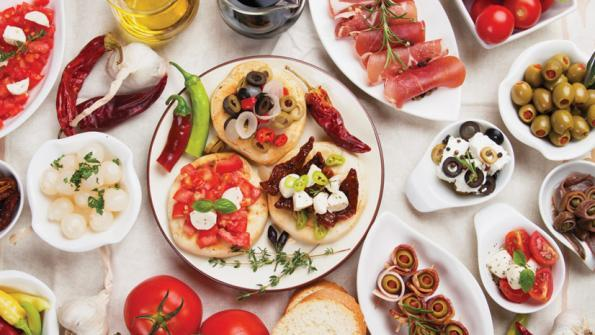 Mediterranean cuisine - Cori Costache