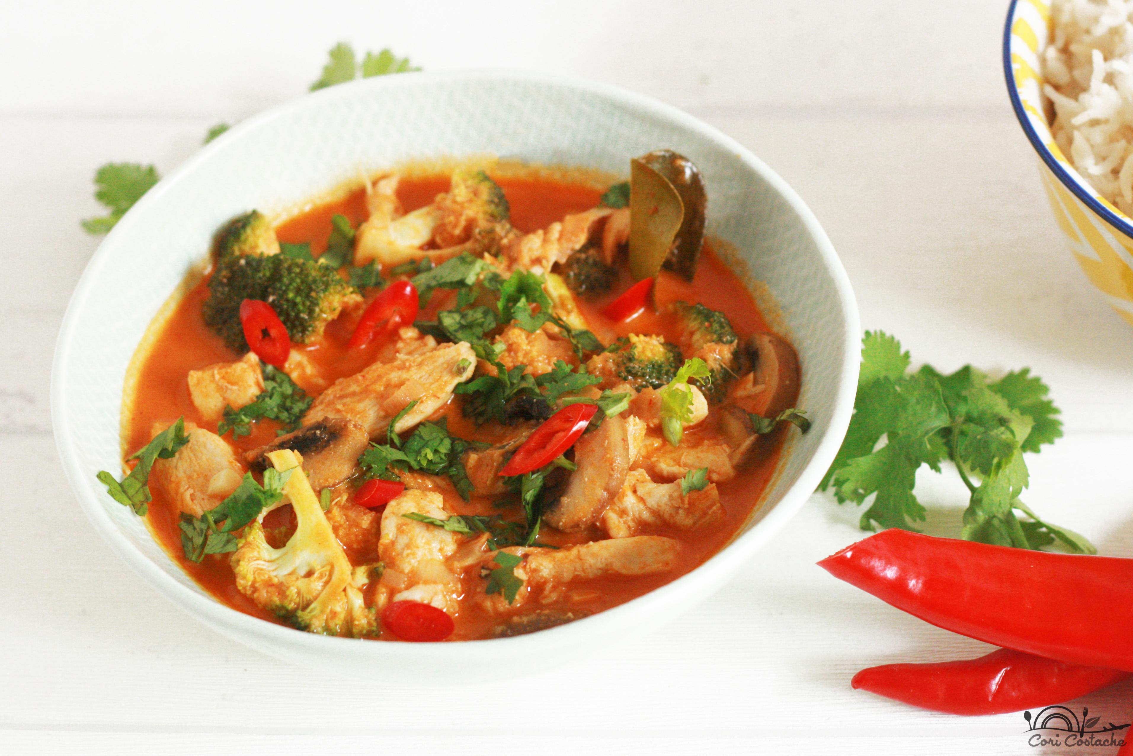 Cori's Thai Curry Chicken