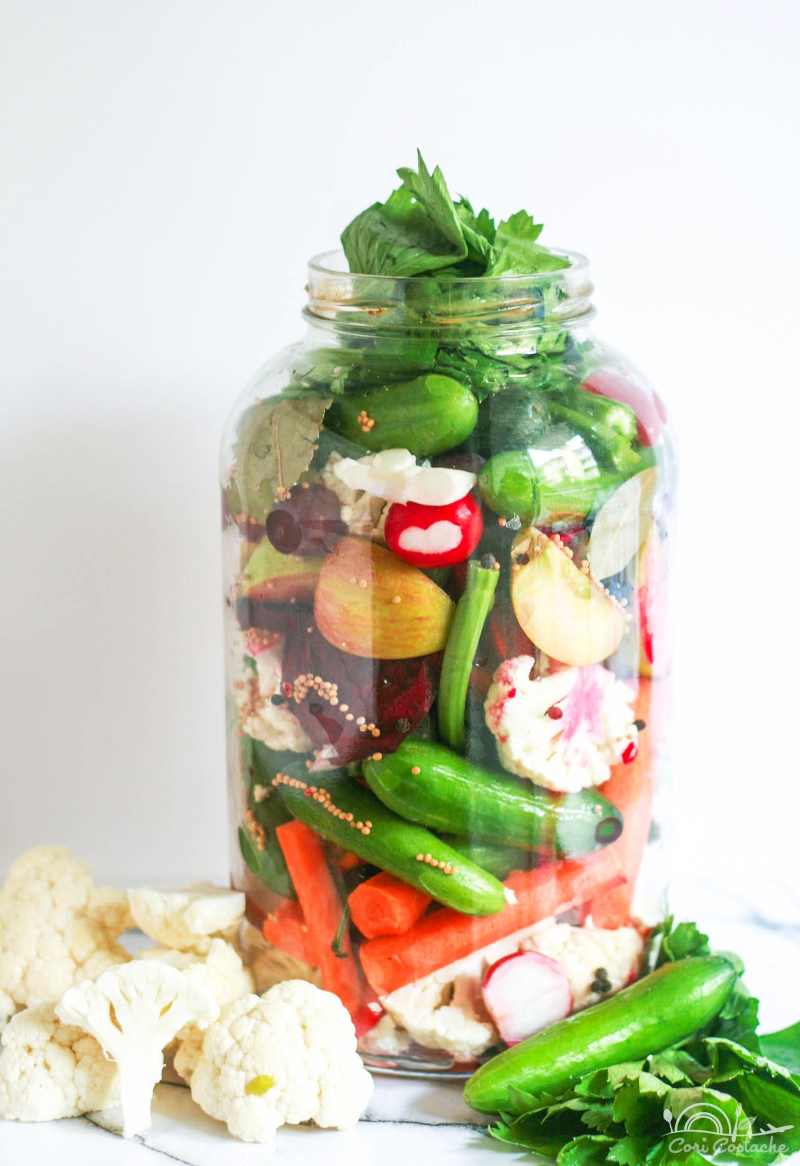 Homemade Pickled Veggies